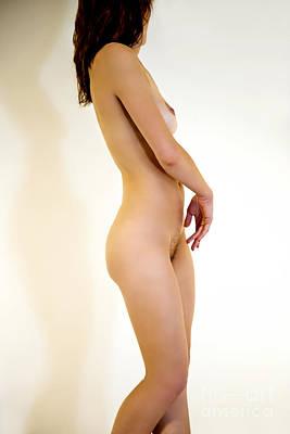 Pubic Hair Photograph - Female Nude Study by Julia Hiebaum