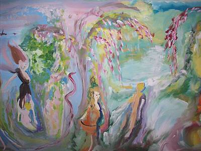 Nurturer Painting - Female Persuasion by Judith Desrosiers