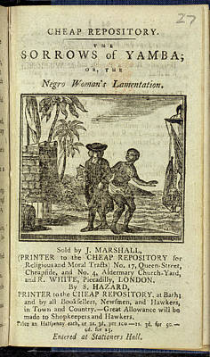 Slaves Photograph - Female Slave by British Library