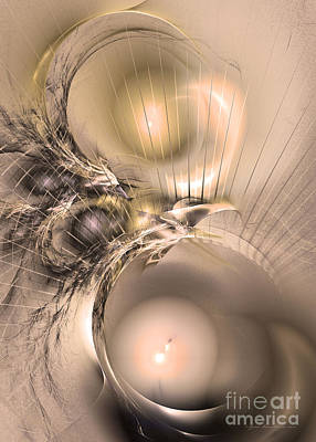 Digital Art - Femina Et Vir - Abstract Art by Sipo Liimatainen