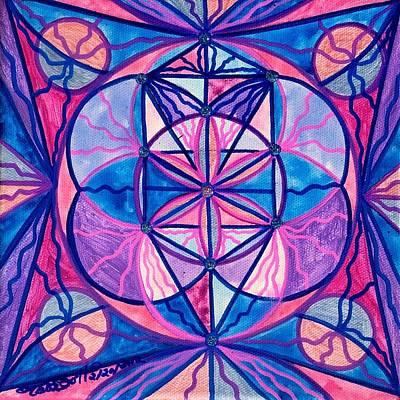 Sacred Feminine Painting - Feminine Interconnectedness by Teal Eye  Print Store