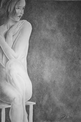 Feminine Iv Art Print by Suvam Majumder