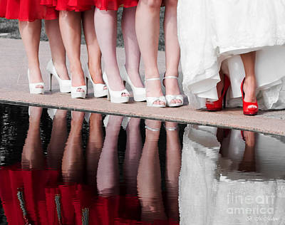 Photograph - Feminine Reflections by Barbara McMahon