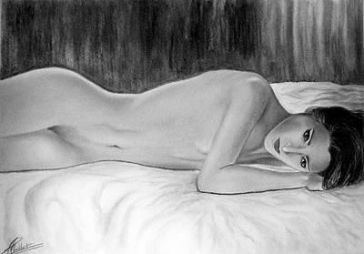 Feminine Vi Art Print by Suvam Majumder