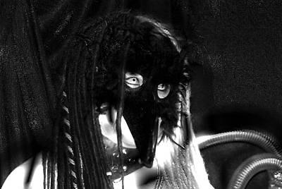 Photograph - Femme Avec Les Couteaux 18 by Tarey Potter