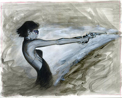 Femme Fatale Original by Luis  Navarro