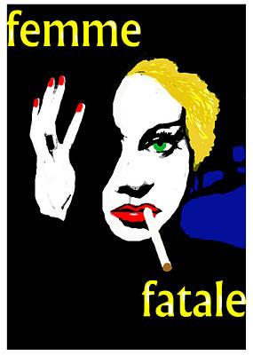 Femme Fatale Original by Paul Sutcliffe