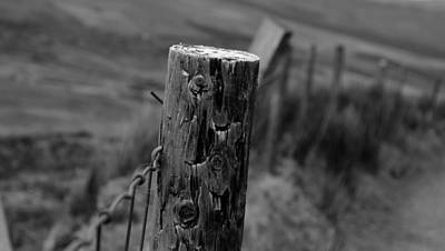 Photograph - Fence by Barbara Walsh