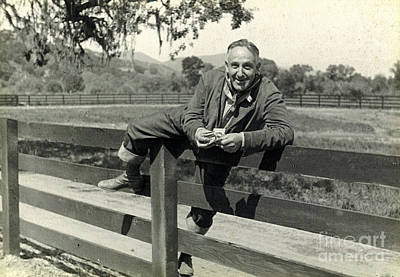 Photograph - Fence Climb 1935 by Patricia  Tierney