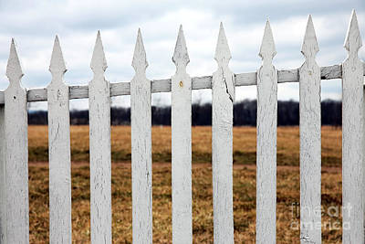 Photograph - Fence by John Rizzuto