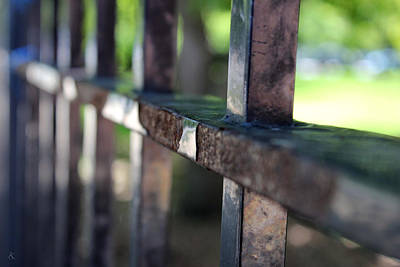 Photograph - Fence by Kelly Smith
