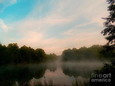 Photograph - Fence Line Sunrise by Scott B Bennett