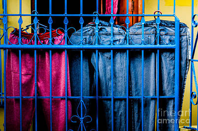 Photograph - Fence On Pants by Michael Arend