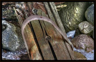 Photograph - Fence Post by Michaela Preston