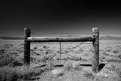 Fence Posts Art Print by Rick Rhay