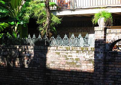 Fence Art Print by Tom Hefko