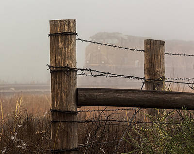 Photograph - Fenced In by Bill Kesler