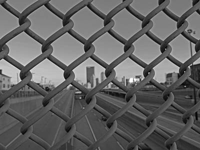 Katharine Hepburn - Fenced in City by Cityscape Photography