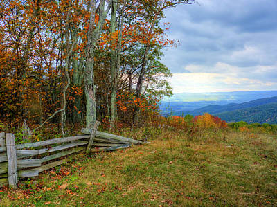 Photograph - Fenced by JC Findley