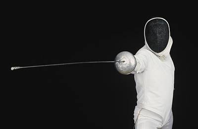 Photograph - Fencer by Bilderbuch
