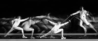 Panorama Wall Art - Photograph - Fencing #1 by Hilde Ghesquiere