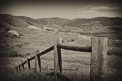 Photograph - Fencing by Kathy Williams-Walkup