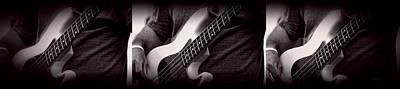 Photograph - Fender Bass by Bob Orsillo