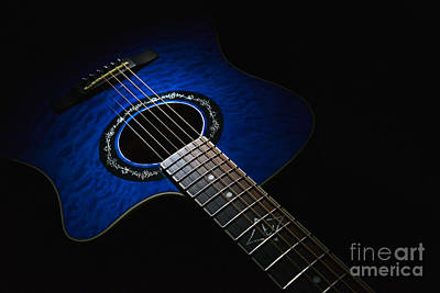 Photograph - Fender Guitar 2 by Glenn Gordon