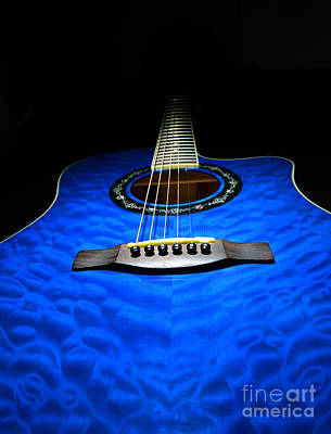 Photograph - Fender Guitar 3 by Glenn Gordon
