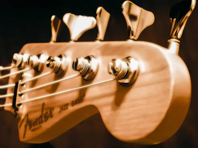 Photograph - Fender Jazz by Robert L Jackson