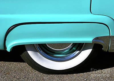 Photograph - Fender What - 1955 Ford by John Waclo