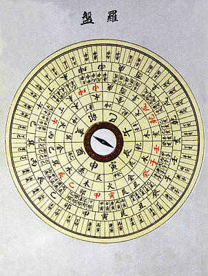 Philosophical Photograph - Feng Shui Compass by Cci Archives