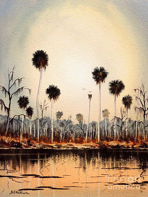 Painting - Fenholloway River Florida by Bill Holkham