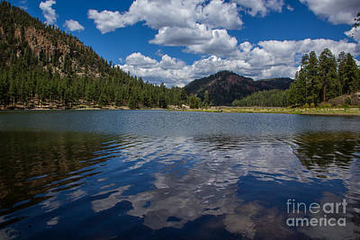 Photograph - Fenton Lake Reflections by Jim McCain