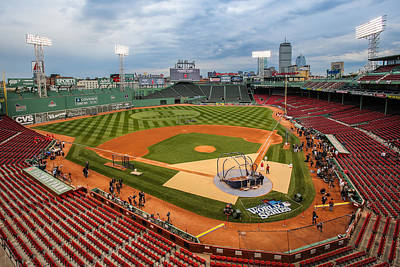 Fenway Before The Storm Art Print