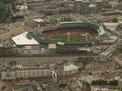 Photograph - Fenway  by Joshua House
