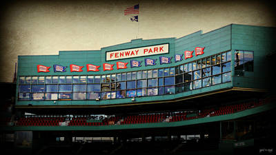 Fenway Memories - 2 Art Print by Stephen Stookey