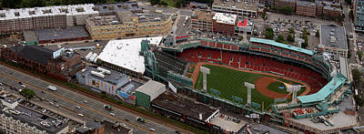Photograph - Fenway Panorama by Joshua House