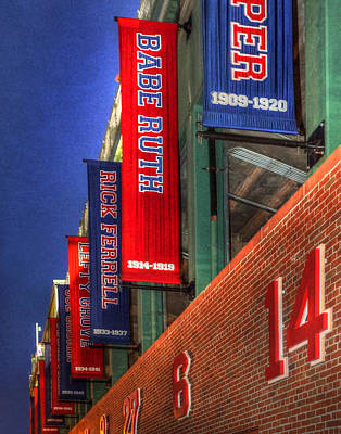Photograph - Fenway Park 001 by Jeff Stallard