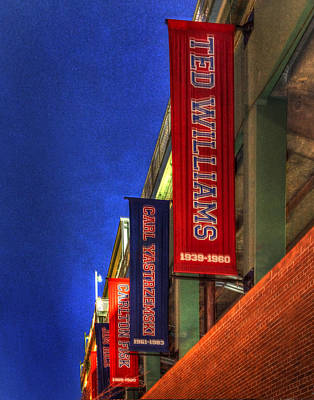 Photograph - Fenway Park 002 by Jeff Stallard
