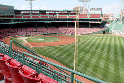 Lengendary Photograph - Fenway Park 1 by Kathy Hutchins
