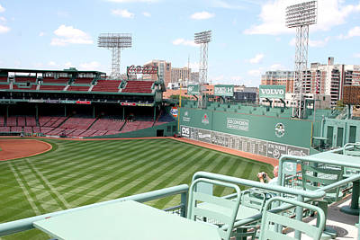 Lengendary Photograph - Fenway Park 10 by Kathy Hutchins