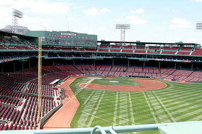 Lengendary Photograph - Fenway Park 2 by Kathy Hutchins
