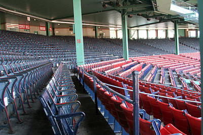 Lengendary Photograph - Fenway Park 3 by Kathy Hutchins