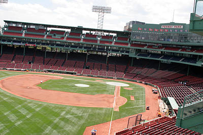 Lengendary Photograph - Fenway Park 4 by Kathy Hutchins