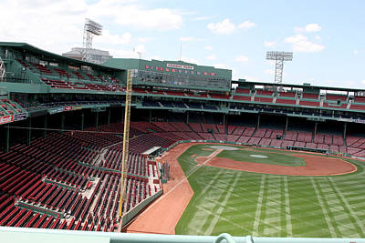 Lengendary Photograph - Fenway Park 6 by Kathy Hutchins