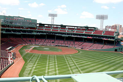Lengendary Photograph - Fenway Park 7 by Kathy Hutchins