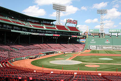 Lengendary Photograph - Fenway Park 8 by Kathy Hutchins