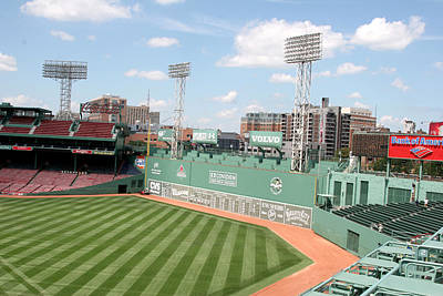 Lengendary Photograph - Fenway Park 9 by Kathy Hutchins
