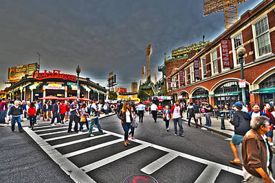 Photograph - Fenway Park And Cask And Flagon by Toby McGuire